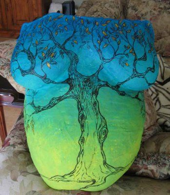 FAMILY TREE PAINTED