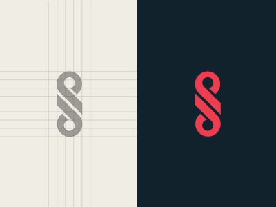 logo / monogram / Letter D and P