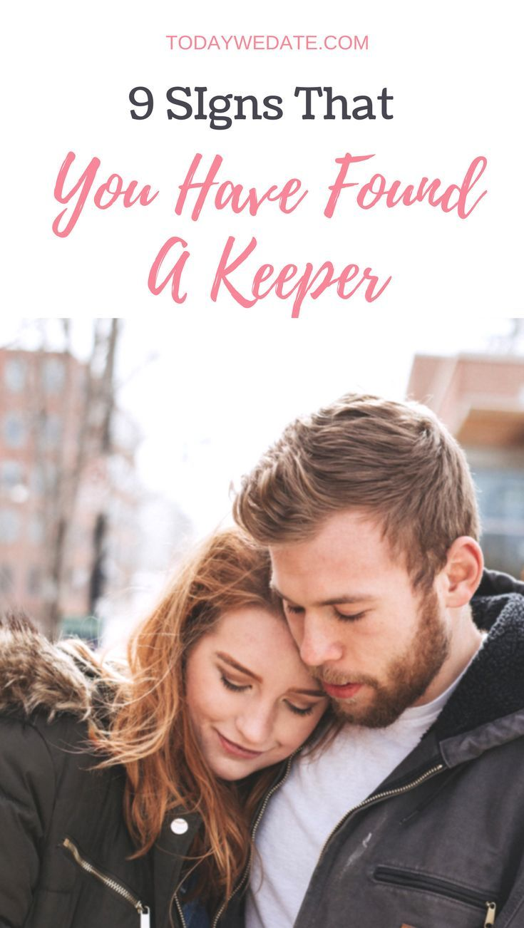 how to know you are dating a keeper
