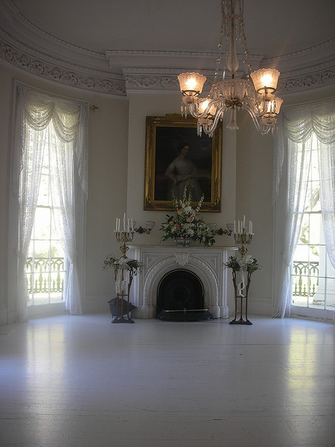 White Ballroom Nottoway Plantation Other End Of The