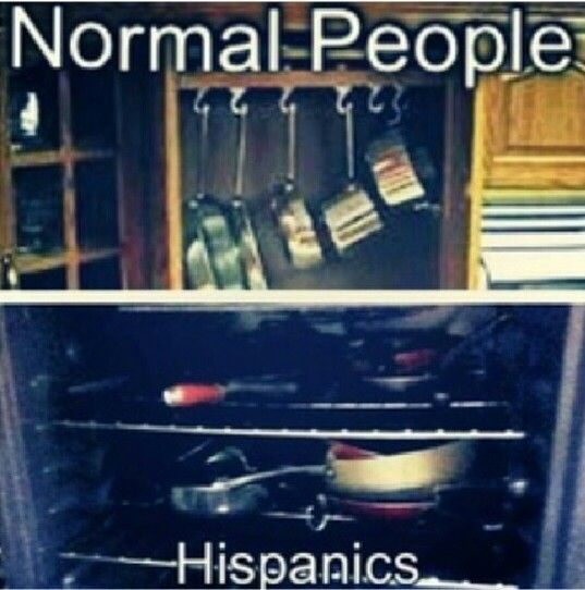 #Hispanics latinos #raza  be like