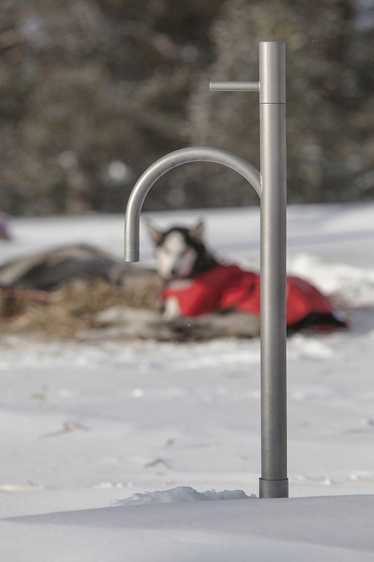 Frostsikker utekran frostline