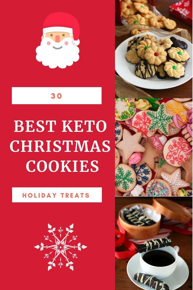 My Favourite 30 Delicious Keto Christmas Cookies Ho Ho Ho