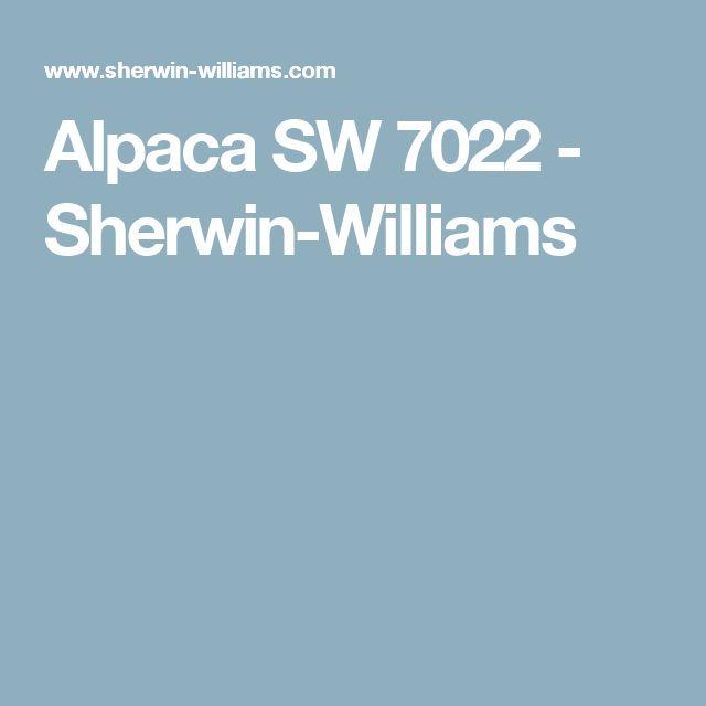 Alpaca SW 7022 - Sherwin-Williams