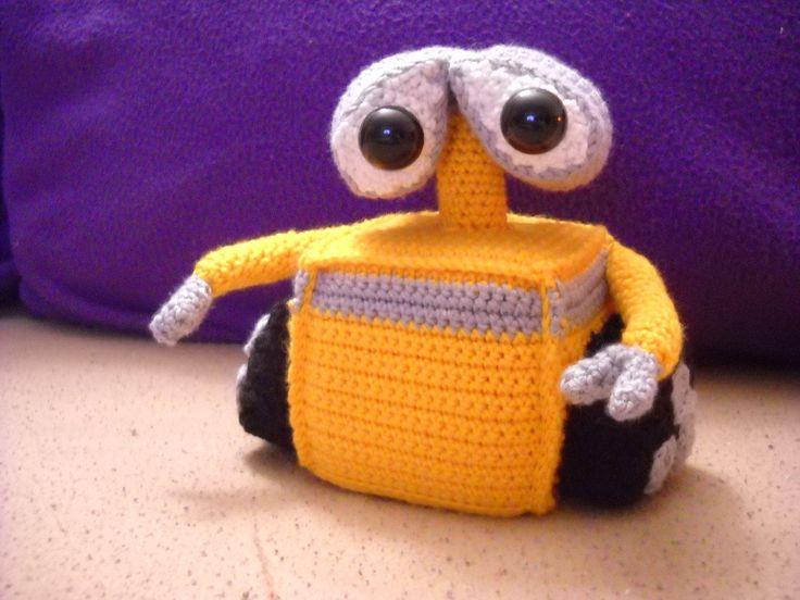 #wall-e #hackovany #crochet #soft #toy #hracka