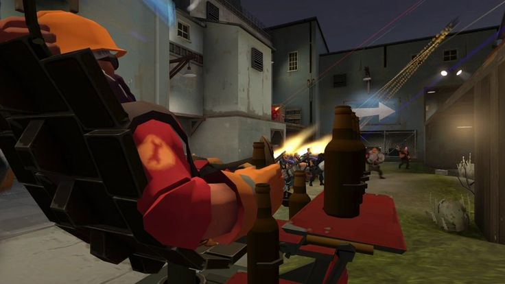 engineer sets off bootleg russian fireworks #games #teamfortress2 #steam #tf2 #SteamNewRelease #gaming #Valve