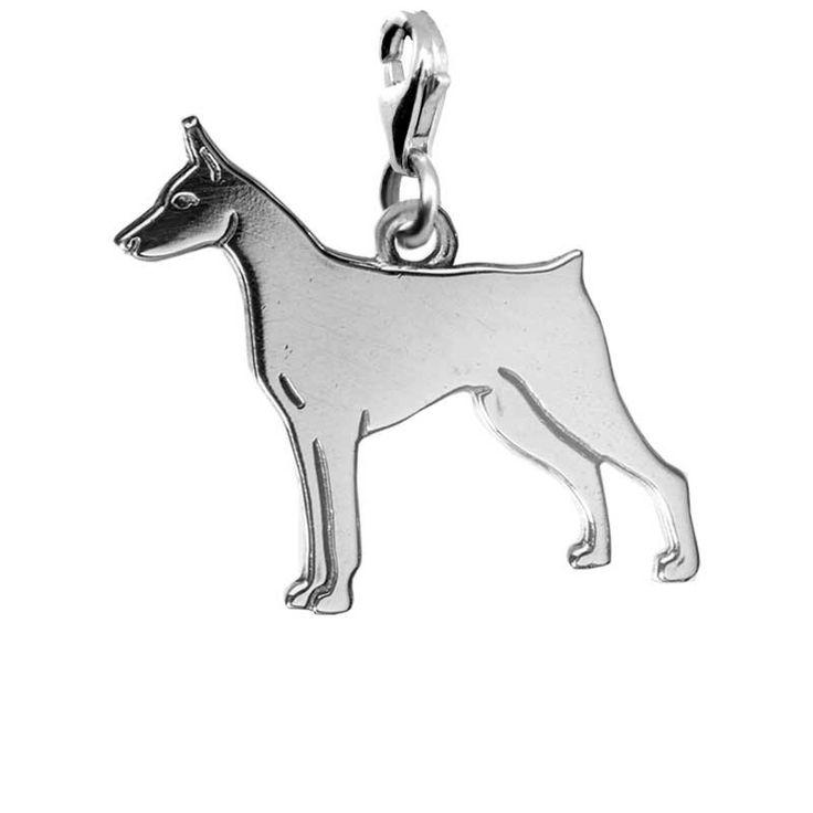 Подвеска Чарм Доберман собаки породы доберман украшения чармы подвески кулоны