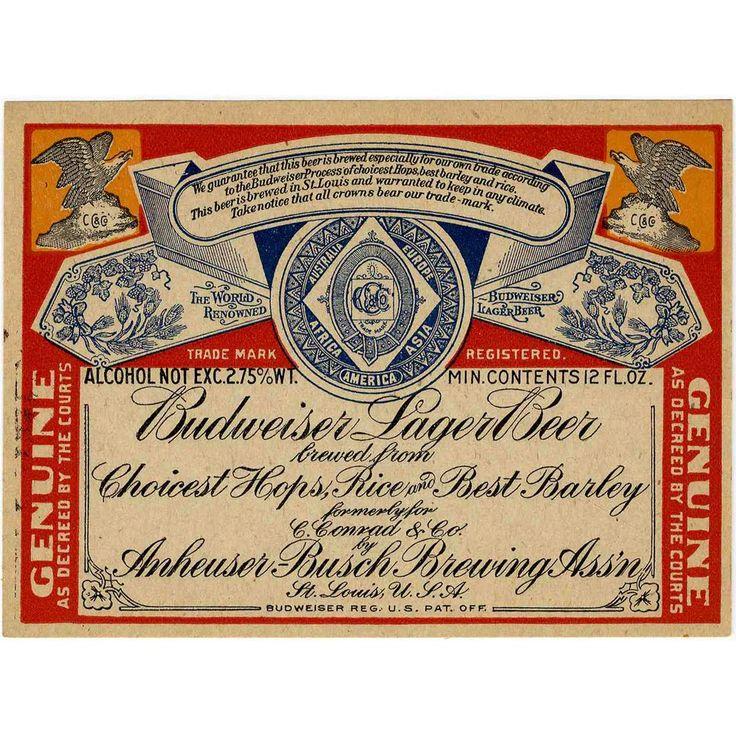 Budweiser Label: Bud Label, Inspiration, Original, Vintage Bud, 11671790 1 Jpg 1200 1200, Budweiser Label, Vintage Design