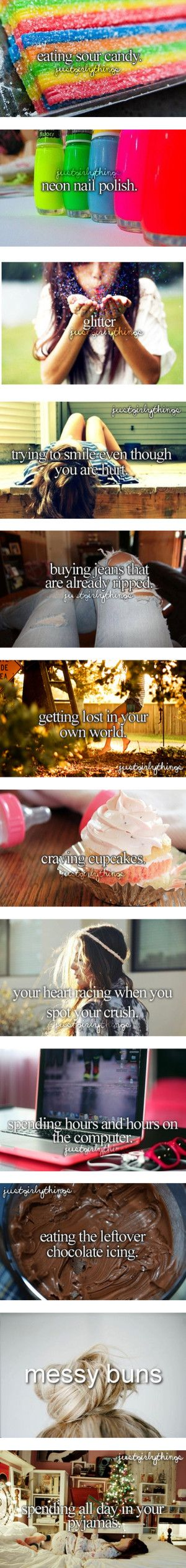 Just Girly Things About Me ... by manamay liked on Polyvore, except for the heart racing photo.