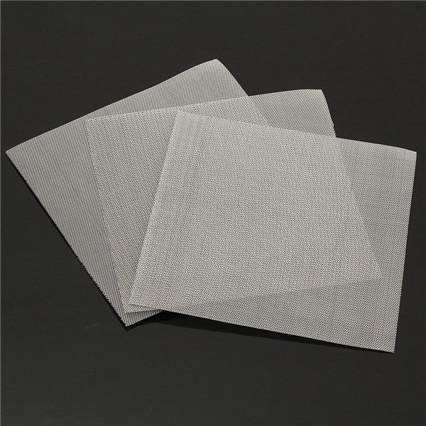 Alambre de 3 piezas de acero inoxidable 304 de 50 de malla de filtración industrial de aceite filtro de agua teje