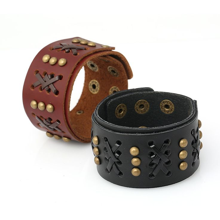 free shipping 2016 new design leather bracelets for men fashion wide cuff bangles with braided latest design real leather style