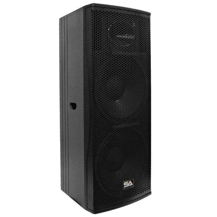 MAGMA-D215PW - Active Dual 15 Inch 2-Way Class D PA/DJ Speaker Cabinet