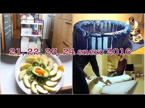 VLOG 35 semanas EMBARAZO GEMELAR / Tenemos matrona ! + Material parto en casa + Preparamos la bañera - YouTube