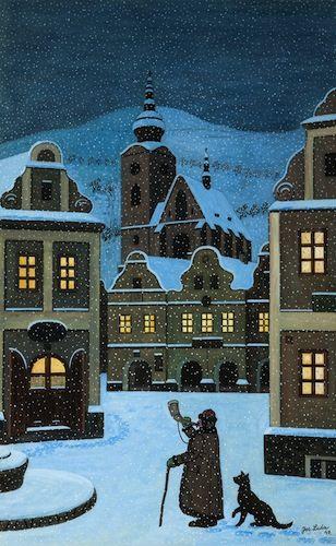 Josef Lada: Ponocný