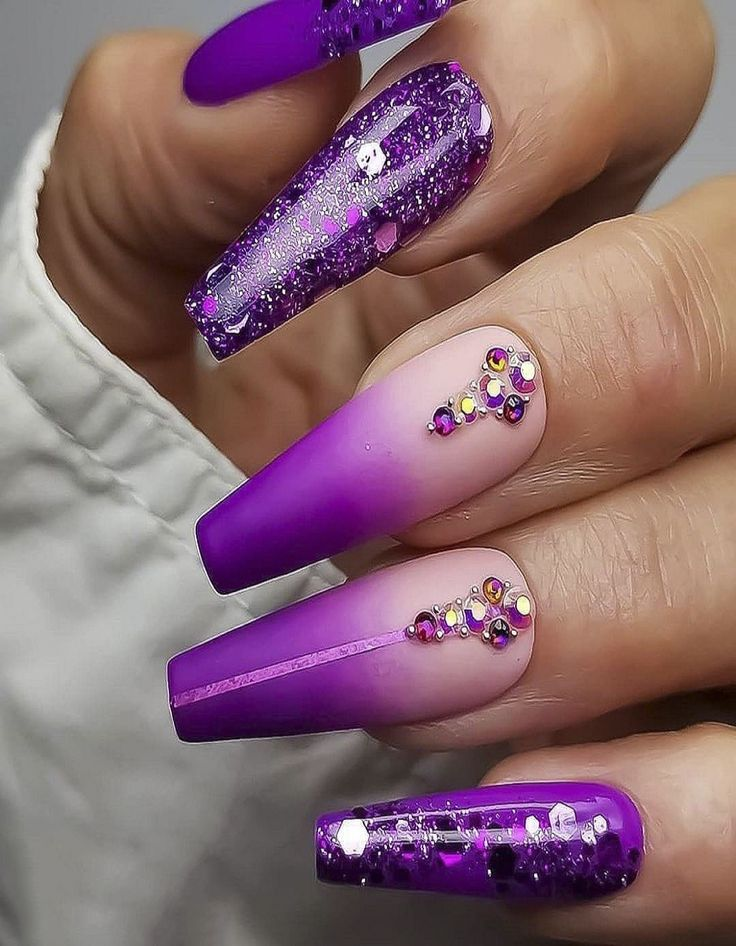 Mix Color Nails Style 2020 in 2020 Nails, Beautiful