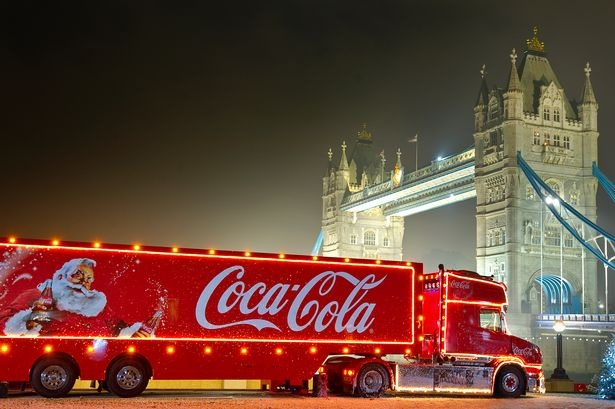Coca-Cola Christmas truck competition: Win a night out in London - Mirror Online