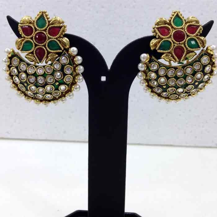 Polki #Fashion #Earrings New Arrivals at #Imitation Jewellery Online. Visit Website www.imitationjewelleryonline.com to check out all the products.