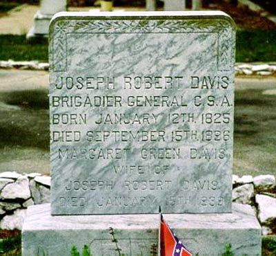 jefferson davis grave location