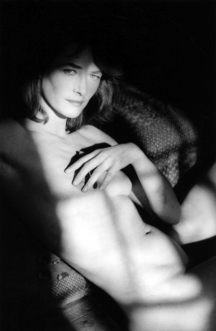 Charlotte Rampling, 1985. Photo: Jeanloup Sieff.