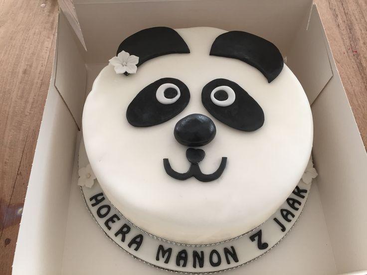 Panda taart