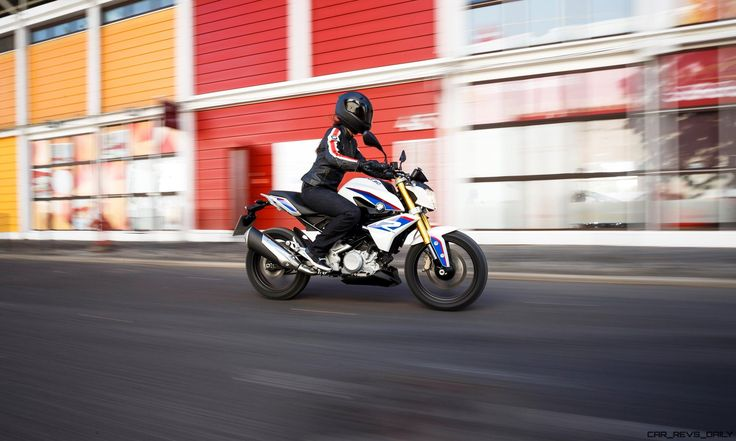 2017 BMW Motorrad G310 R - Ultra-Light Stunt Bike Is A Two-Wheeled Dino Ferrari