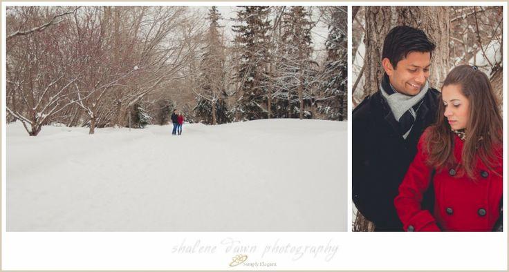 shalene dawn photography edmonton wedding photographer winter engagement session