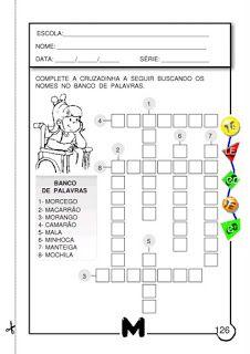 Atividades de alfabetização : Atividades com MA, ME, MI, MO, MU