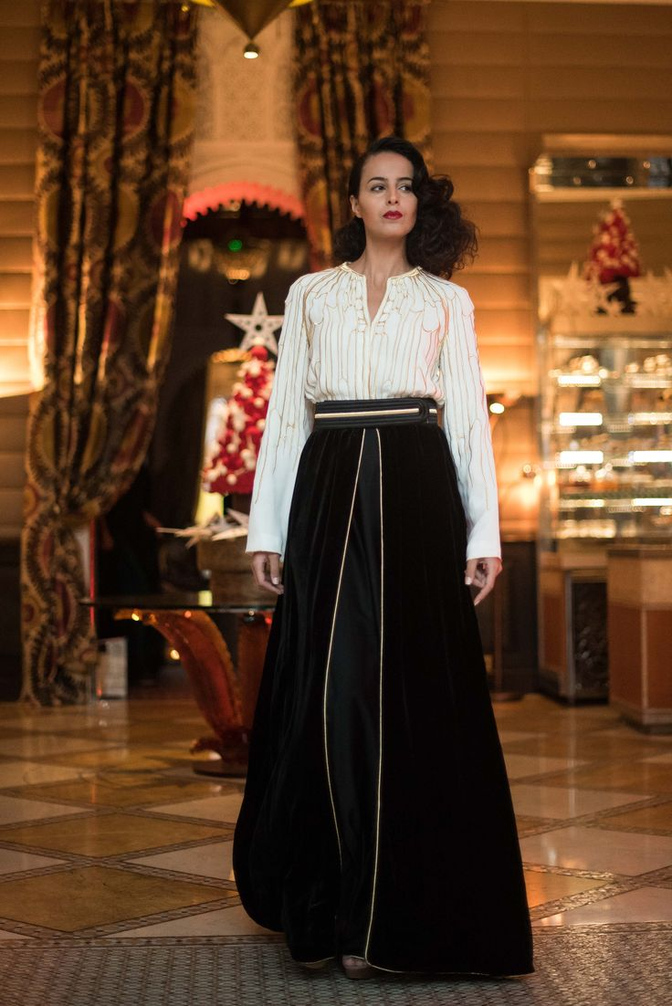 Christmas dress code - Fashion Tea Time At Royal Mansour With Sara Chraibi And A Glimpse Of Our Magical Christmas
