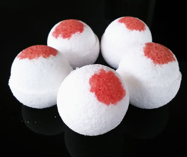 Vampire Blood ~ Bath Bomb natural, healthy and enviro cycle safe bath bomb by fizzedau.com