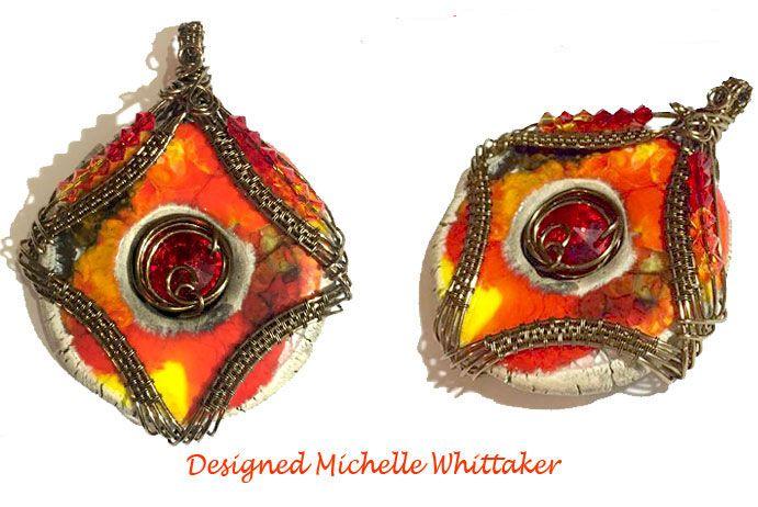 Cleopatra's Crystal Eye Pendant