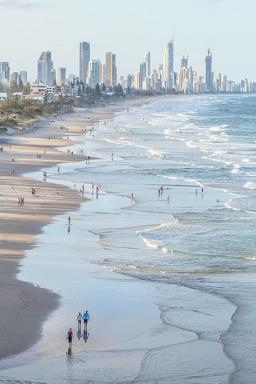 Gold Coast, Australia.I have been there and i love it.Please check out my website thanks. www.photopix.co.nz