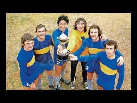 Boca campeón Copa Libertadores 1977