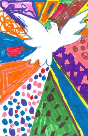 Picasso peace dove   Artsonia Art Museum :: Artwork by Carley316: Picasso peace dove   Artsonia Art Museum :: Artwork by Carley316