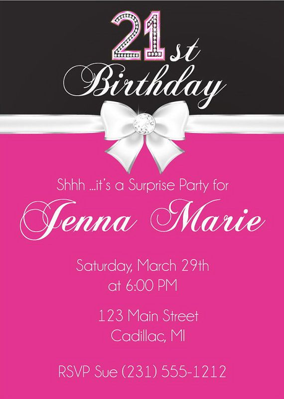 The 25 best 21st birthday invitations ideas – 21st Birthday Invitations Ideas