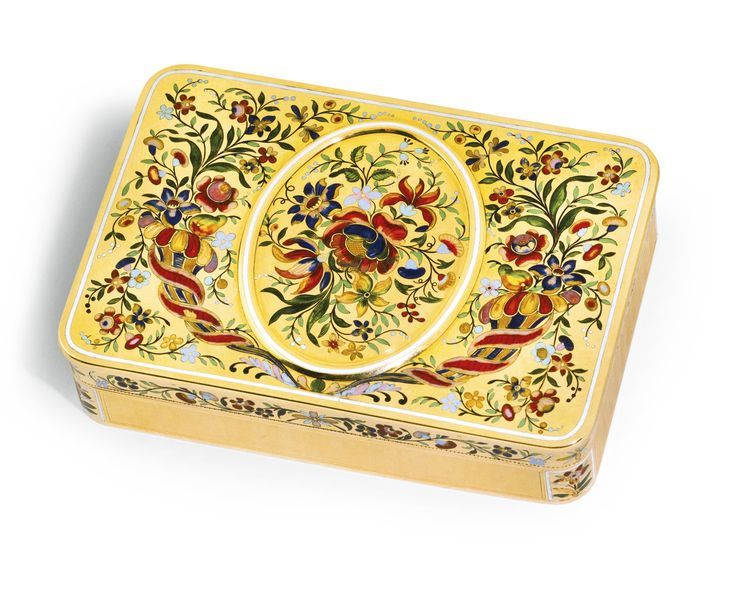 a gold and enamel snuff box possibly turin circa 1830 rectangular with rounded corners. Black Bedroom Furniture Sets. Home Design Ideas