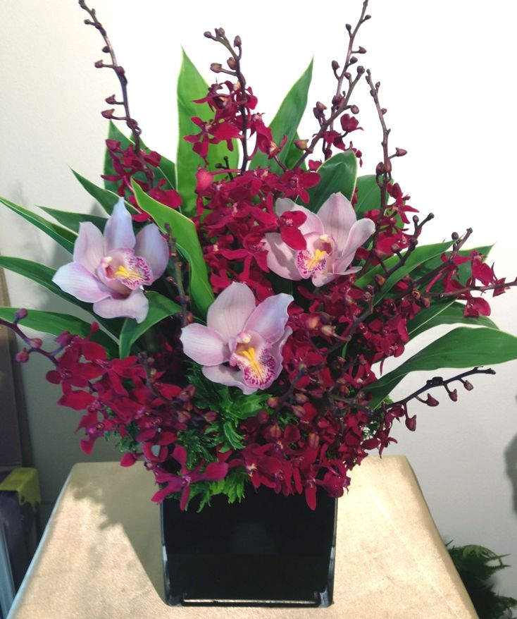 Chinese new year flower arrangement