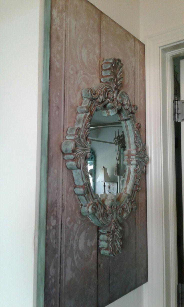 Shabby French Mirror