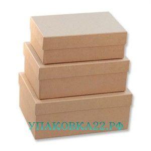 Набор крафт коробок - 1 (3 шт.)  Барнаул  Набор состоит из 3х прямоугольных крафт коробочек. Коробочки могут использоваться для хранения мелочей и косметики, в качестве подарочной упаковки, а также для дальнейшего декорирования. Размеры: 19*12*6,5/23*16/9,5   Наш сайт: http://upa2.ru