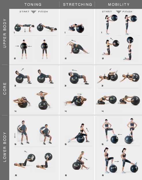 Exercise ball inspiration