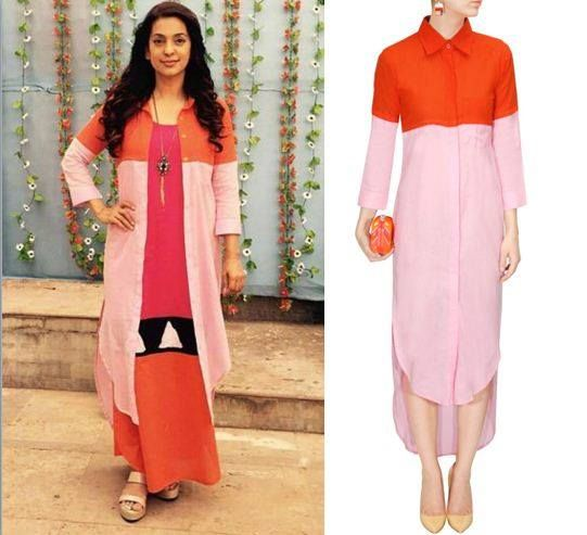 GET THIS LOOK  Juhi Chawla flaunts her elegance in this gorgeous outfit with a…