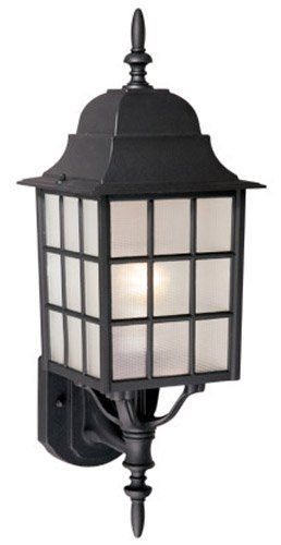 Vaxcel USA OW36761TB Vista 1 Light Mission Outdoor Wall Lamp Lighting Fixture in Black, Glass by Vaxcel. $34.74. For over 20 years, Vaxcel International has been a premier supplier of residential lighting products. Our product offering is composed of more than 2000 items, ranging from builder-ready fixtures and ceiling fans to designer chandeliers and lamps, in the latest styles and finishes. We are known in the industry for offering a full selection of products at competitiv...