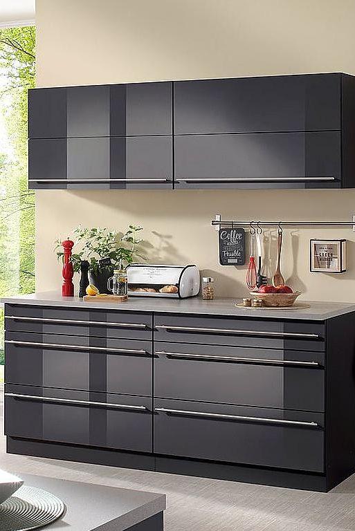 WIHO KÜCHEN Küchenzeile ohne E-Geräte »Chicago«, Gesamtbreite 180 cm ...