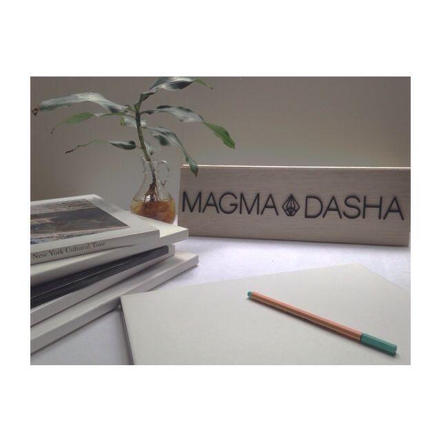 Espacios de trabajo  #workprogress #magmadasha