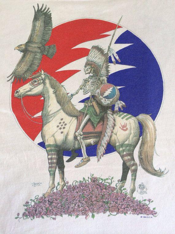 GRATEFUL DEAD Tshirt Vintage 1994 Summer TOUR/ by sweetVTGtshirt, $95.00