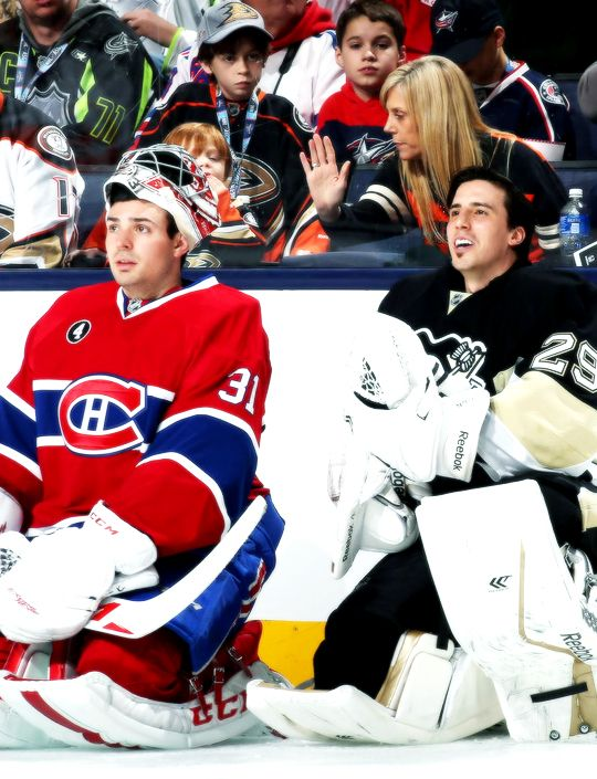 Oof. Carey Price and Marc-Andre Fleury