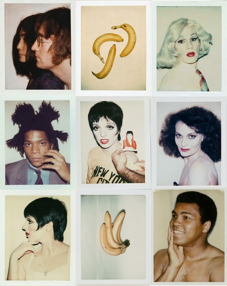 Big Shots: Andy Warhol Polaroids
