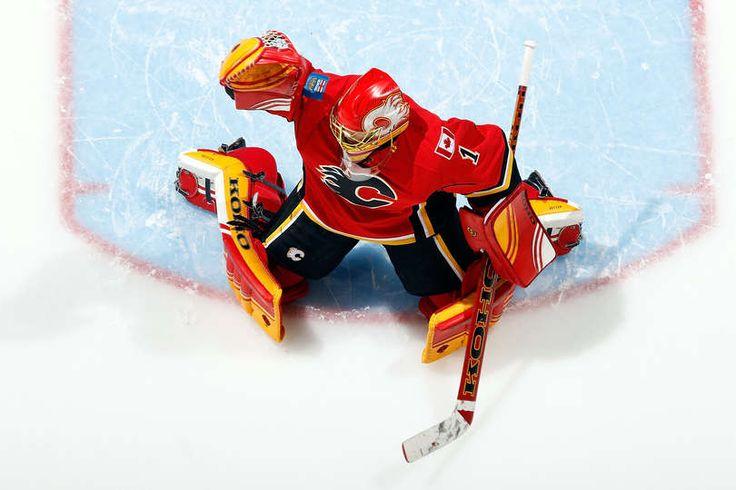 Jonas Hiller #1 Calgary Flames