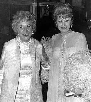 Lucille Ball and Vivian Vance