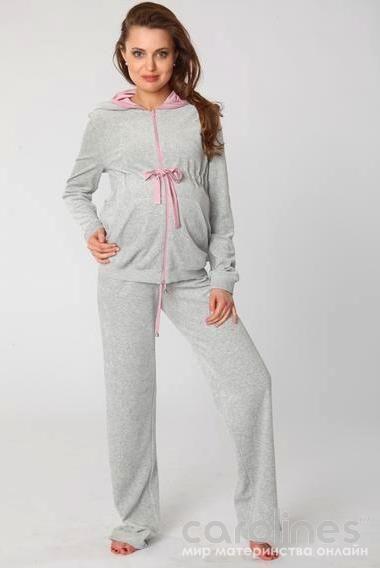 Велюровые костюмы для беременных