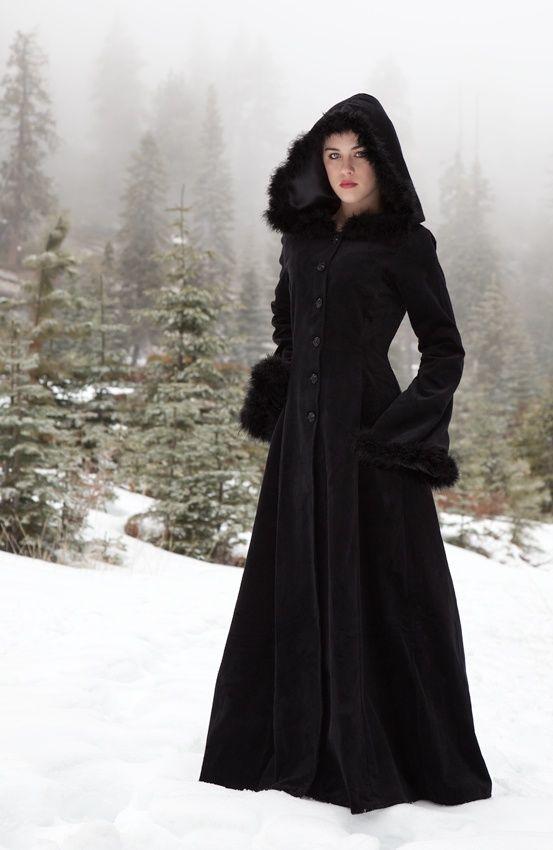 {oh!} Anastasia Coat, $255.  100% cotton velvet, fully lined in satin. <3 <3 <3